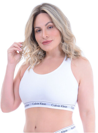 Top Plus Size Branco