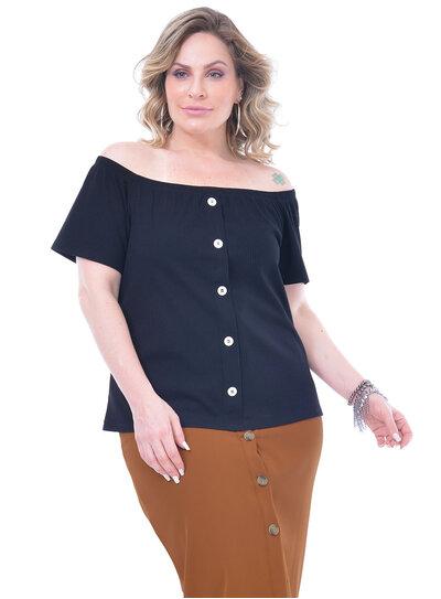 Blusa Plus Size Ingrid
