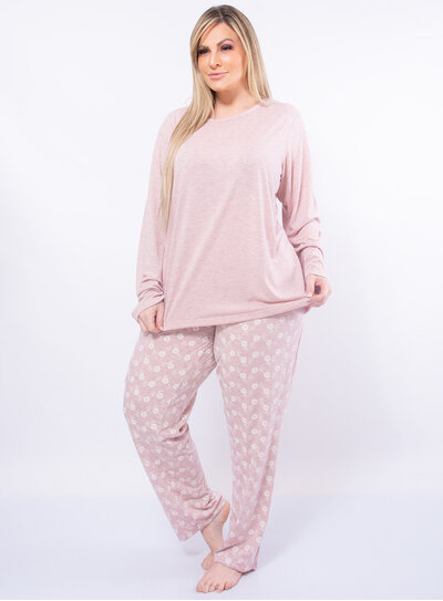 Pijama Plus Size Liberty