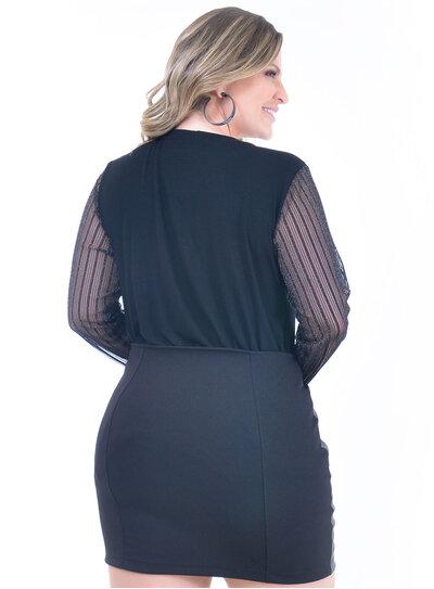 Blusa Plus Size Lucia