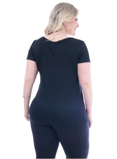 T-Shirt Plus Size Like
