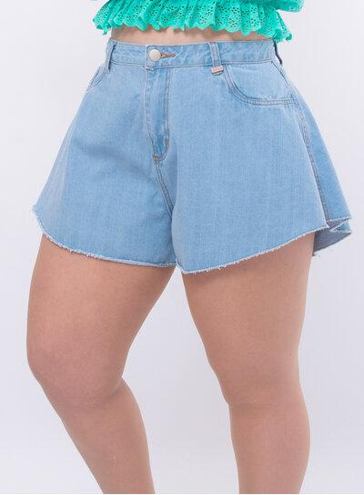 Short Jeans Plus Size Godê