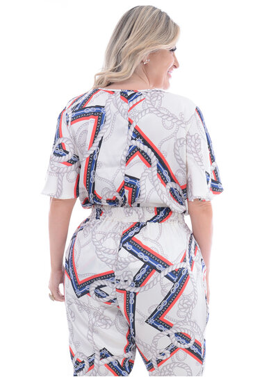 Blusa Plus Size Acerto