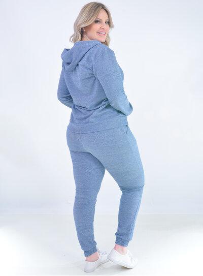 Conjunto Plus Size Azul