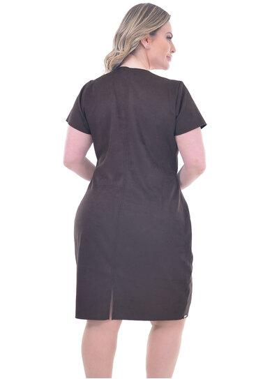 Vestido Plus Size Antália