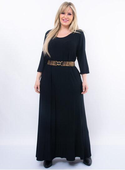 Vestido Plus Size Longo Amplo