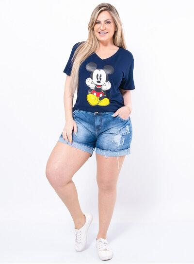 T-shirt Plus Size Mickey Fofo
