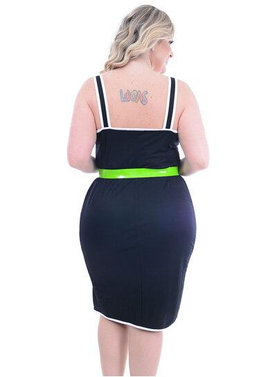 Vestido Julia Plus Viés Plus Size