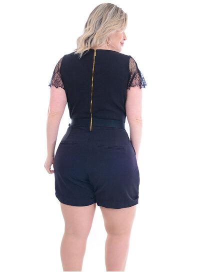 Macaquinho Plus Size Berilo
