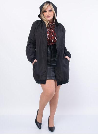 Jaqueta Plus Size Corta Vento