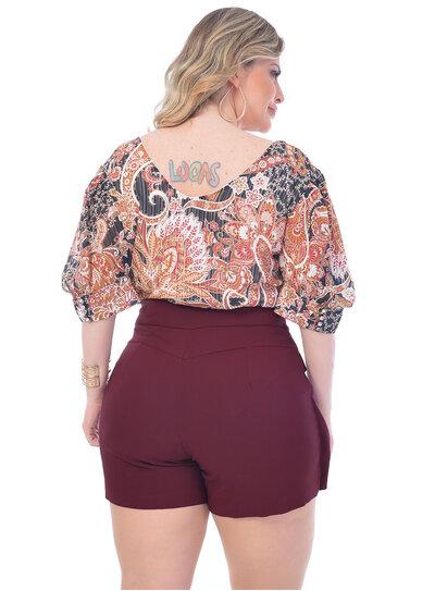 Blusa Plus Size Espanha
