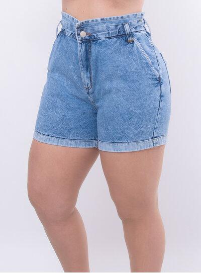 Short Jeans Plus Size Clochard