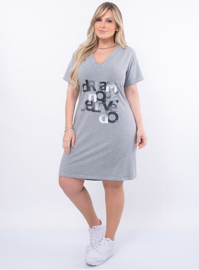 Vestido Plus Size Camisetão
