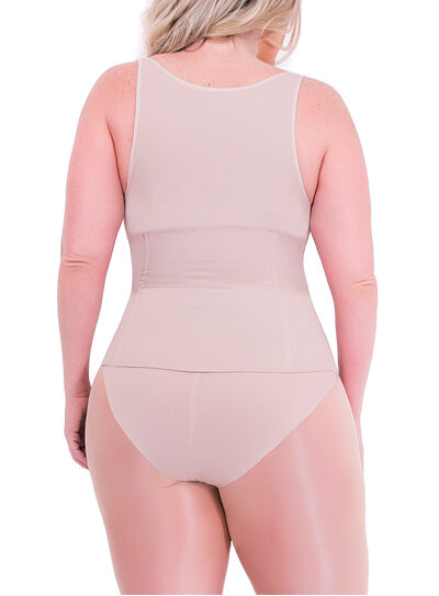 Cinta Modeladora Plus Size Plié Nude