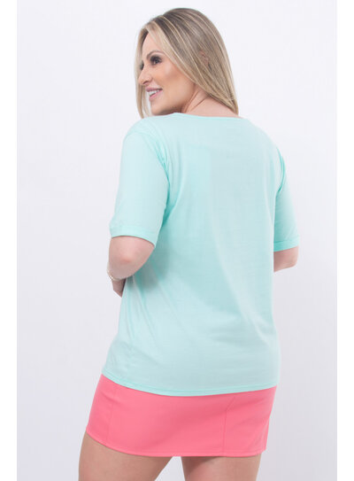 T-Shirt Plus Size Donut Worry