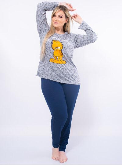 Pijama Plus Size Garfield