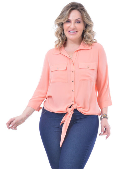 Camisa Plus Size Mercedes