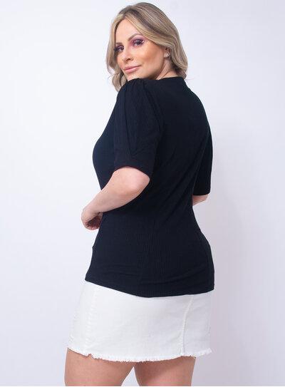 Blusa Plus Size em Ribana