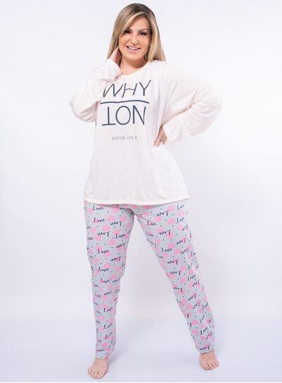Pijama Plus Size Good Idea