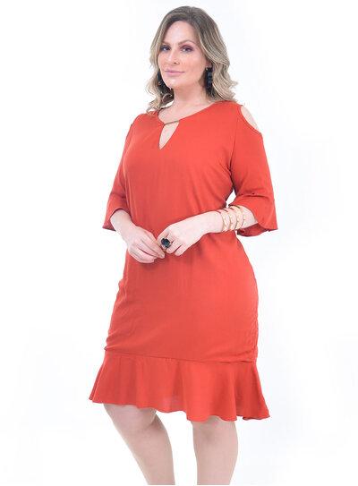 Vestido Plus Size Tulip