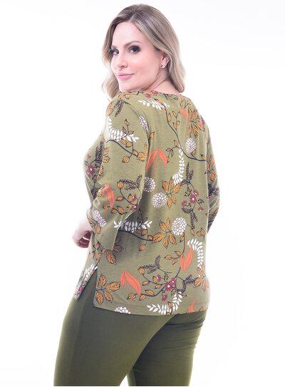 Blusa Plus Size Strappy