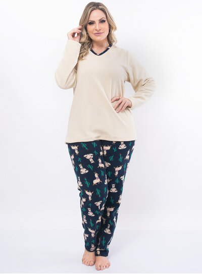 Pijama Plus Size em Soft