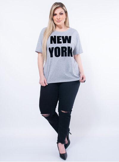 T-Shirt Plus Size New York