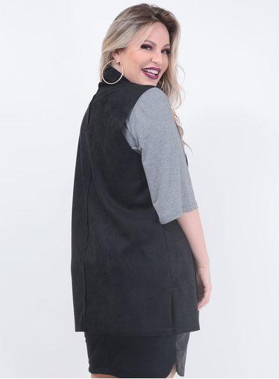 Colete Tamanhos Nobres Maxi Plus Size