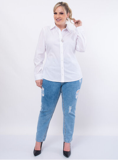 Camisa Plus Size Básica