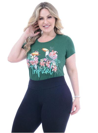 T-Shirt Plus Size Argélia