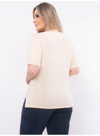 Camisa Plus Size Detalhe em Laço