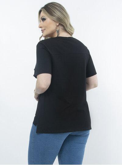T-Shirt Plus Size Mullet