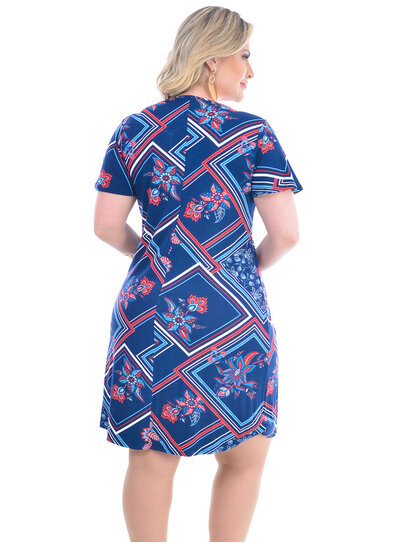 Vestido Plus Size Marisela