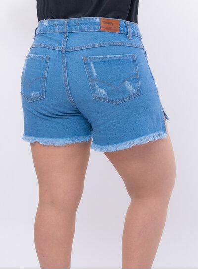 Short Jeans Plus Size Mullet