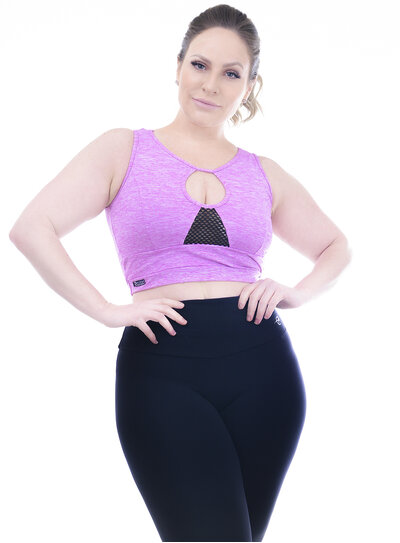 Top Plus Size Recortes