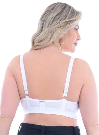 Sutiã Plus Size Branco
