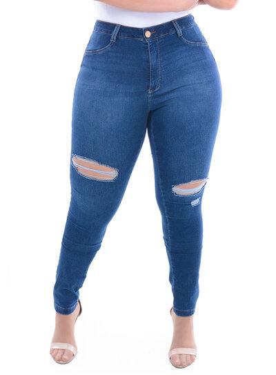 Calça Jeans Plus Size Jaca