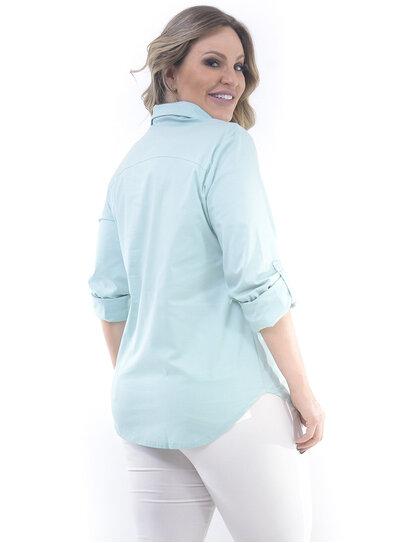 Camisa Plus Size Tradicional