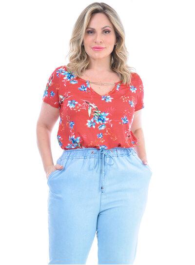 Blusa Plus Size Magali