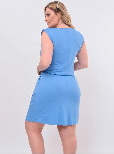 Vestido Plus Size Midi Muscle Tee