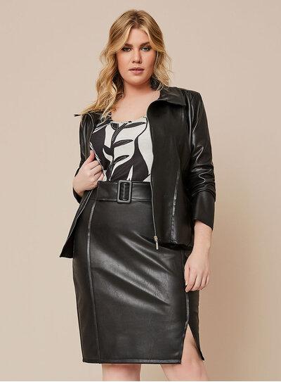 Jaqueta Plus Size Nova York