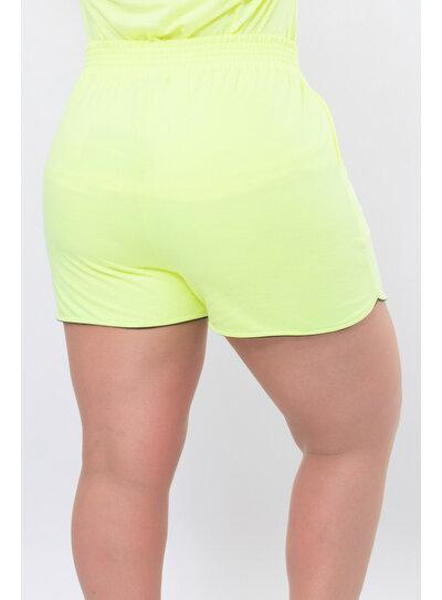 Short Plus Size Neon