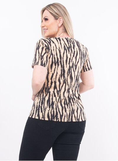 Blusa Plus Size Argola