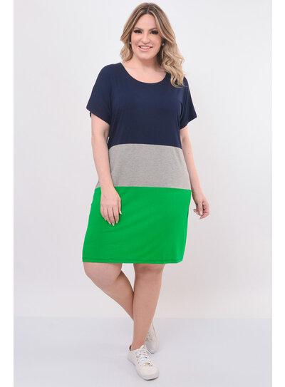 Vestido Plus Size Color