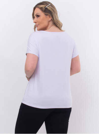 Blusa Plus Size Branca