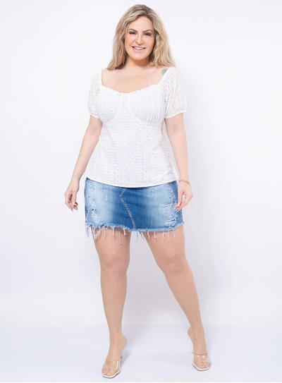 Blusa Plus Size Laise