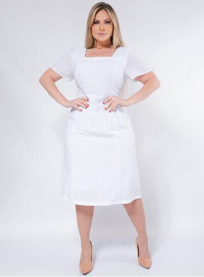 Vestido Plus Size Renda Laise
