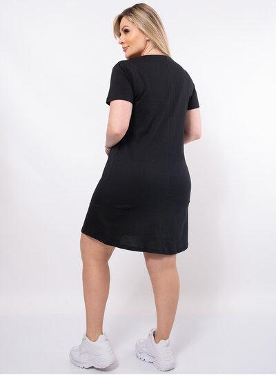 Vestido Camisetão Plus Size