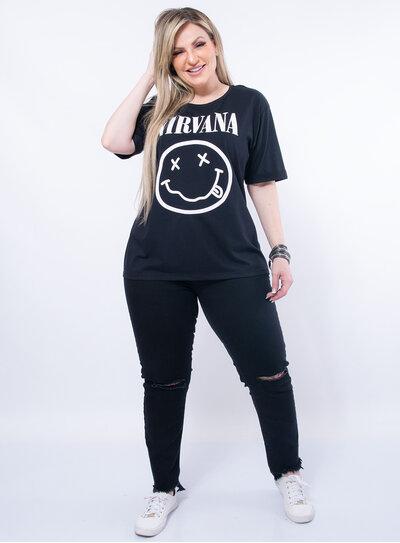 T-Shirt Plus Size Nirvana