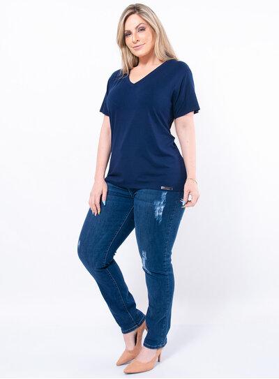 T-shirt Plus Size Básica
